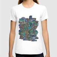 concrete T-shirts featuring Concrete Jungle  by AdrianWest
