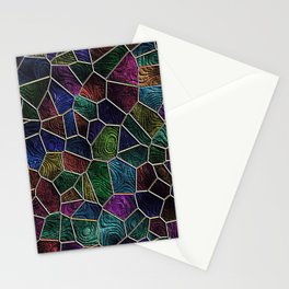Mosaic LORA,multicolor Stationery Cards