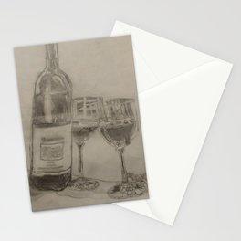 Fine Wine Stationery Cards