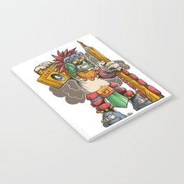 Pencil Warrior Notebook