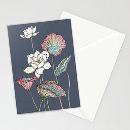 Lotus Symphony Stationery Cards