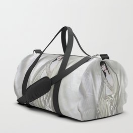 "say no to patriarchy / ""the madonna"" Duffle Bag"