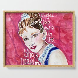 Holly Golightly Serving Tray