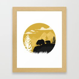 Bear Valley Framed Art Print
