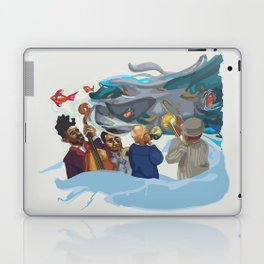 Jazz band Laptop & iPad Skin