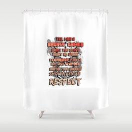 Gamer Respect Shower Curtain