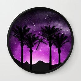 Desert Sunset 2 Wall Clock