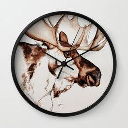 Deer | Scandinavian Moose Wall Clock