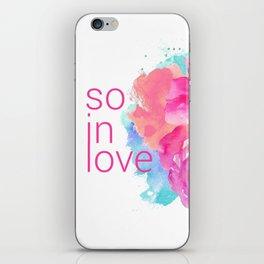 So In Love iPhone Skin
