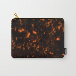Tortoise Shell Pattern Carry-All Pouch