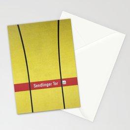 Munich U-Bahn Memories - Sendlinger Tor Stationery Cards