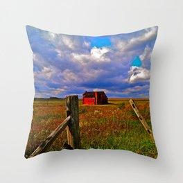 Rockwood Barnscape Throw Pillow