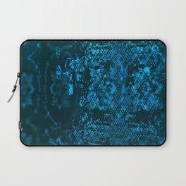 Blue Folk Pattern Laptop Sleeve