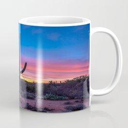 Old West - Saguaro Cactus at Sunrise in Sonoran Desert near Tucson Arizona Coffee Mug