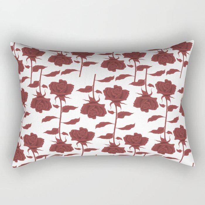Roses 4 Rectangular Pillow