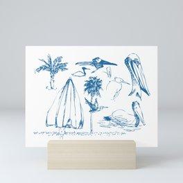 Florida Sketchbook 1 Mini Art Print
