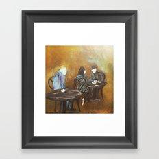 Jealous Of Youth Cafe Part 1 Framed Art Print