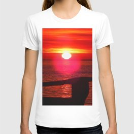 Sun Melts into the Sea T-shirt