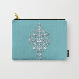 Swirly Flowers Carry-All Pouch