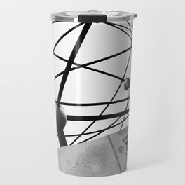 World Clock Berlin BW Travel Mug