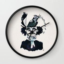 Edgar Poe - Nevermore Wall Clock