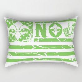 NOLA FLAG GREEN Rectangular Pillow