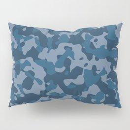 Camouflage Ocean Pillow Sham