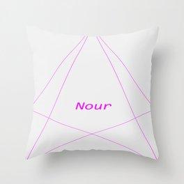 Name Design 1 Throw Pillow