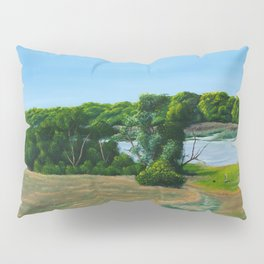 Thuringia Summer Landscape Pillow Sham