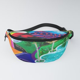 Night in Ponce, Puerto Rico Fanny Pack