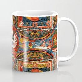 Hevajra Buddhist Thangka Mandala Yidam Coffee Mug
