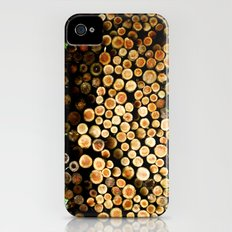 The Great Wall Of Wood iPhone (4, 4s) Slim Case