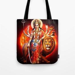 Hindu Durga 8 Tote Bag