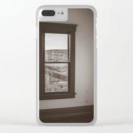 Hurd Round House, Wells County, North Dakota 38 Clear iPhone Case