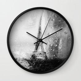 Paris ne finit jamais Wall Clock