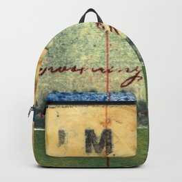 M Stripe Backpack