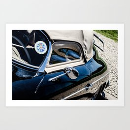 Car, reflect Art Print