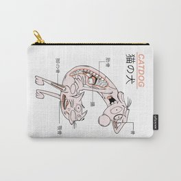 The CatDog Anatomy Carry-All Pouch