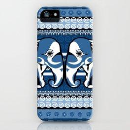 Indo Eleblu iPhone Case