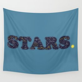 STARS. Wall Tapestry