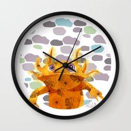 Bubbles Axolotl Wall Clock