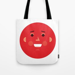 Explosion Face Tote Bag