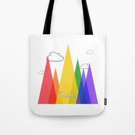 PRIDE MOUNTAINS Tote Bag