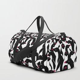 meanwhile penguins II Duffle Bag
