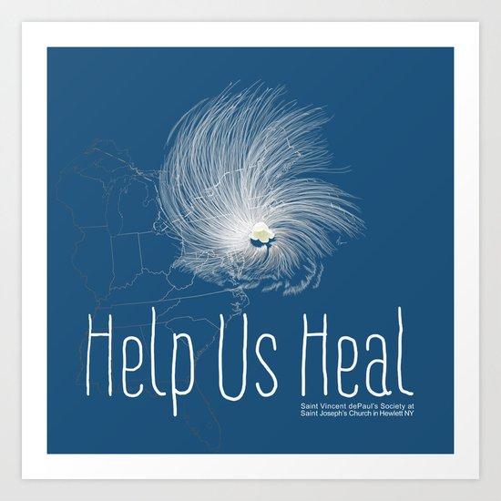 Help Us Heal - Hurricane Sandy Relief Art Print