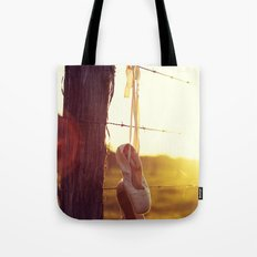 Country Ballet Tote Bag