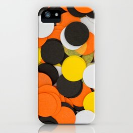 Halloween Party Confetti iPhone Case