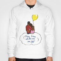 friday Hoodies featuring FRIDAY by RM2 Designs
