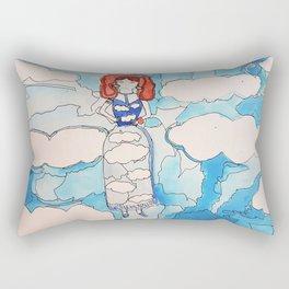 Sky Girl Rectangular Pillow