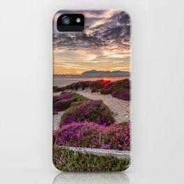 Headon Hill Sunset Isle Of Wight iPhone Case